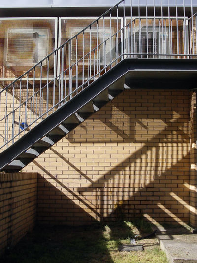 View Of Stairs Leading To Building