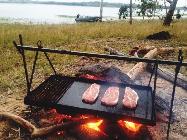 The EyeEm Breakfast Club breaky on the fire is always the best! Camping