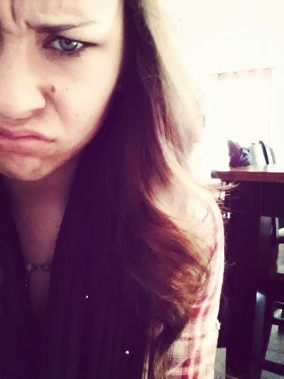 This Is My Angry Face. Stupid Printer Wont Print My Tickets!!!