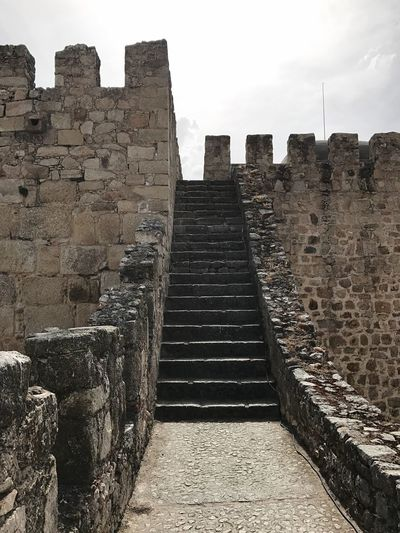 History Old Ruin Ancient Architecture Ancient Civilization Built Structure The Past Travel Destinations Archaeology Travel Stone Material Steps Tourism Steps And Staircases Castle Fort Day Ancient History Sky Trujillo Village, Spain Extremadura