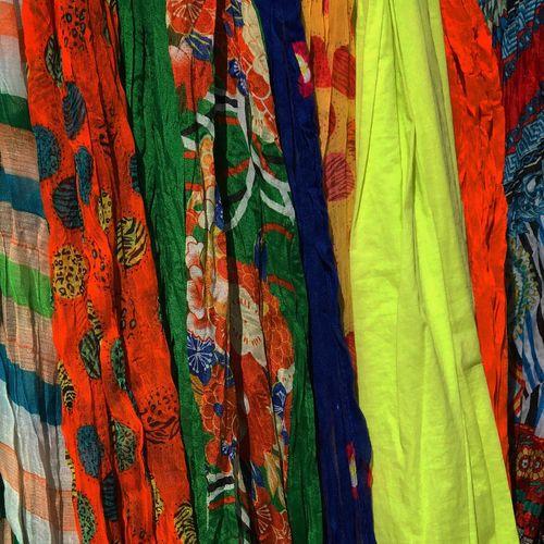 Full frame shot of multi colored sale in market