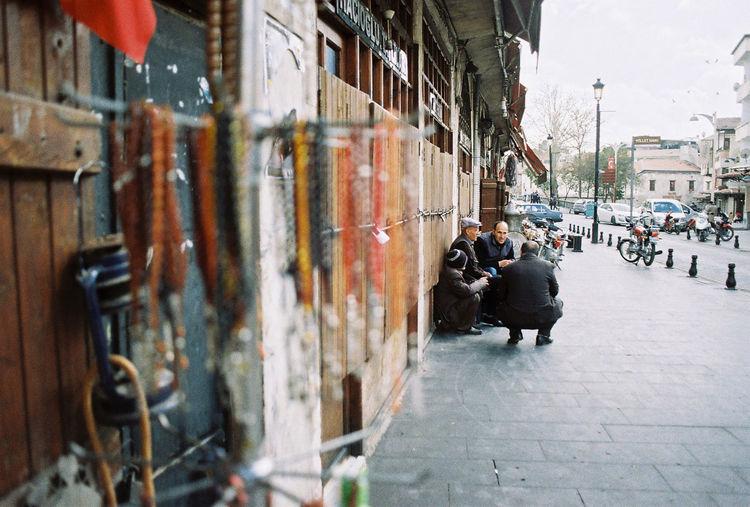 City street in city
