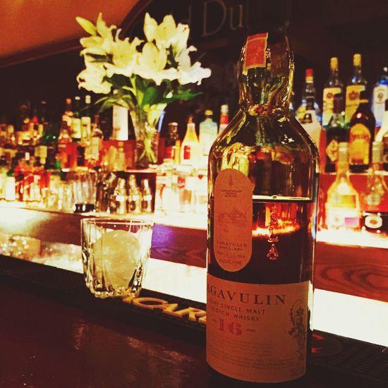 OKINAWA, JAPAN Bar Scotch Islay Lagavulin