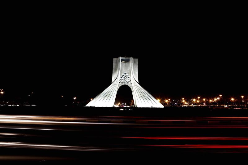 Azadi tower in the night ,Tehran.Iran Night Speed Illuminated Long Exposure No People Architecture Tehran Night Tehran Streets Tehran Tehran At Night Architecture Azadi Tower Azadi Tower In Tehran Azadi Square EyeEm Diversity EyeEm Diversity The Secret Spaces EyeEmNewHere The Great Outdoors - 2017 EyeEm Awards The Street Photographer - 2017 EyeEm Awards The Architect - 2017 EyeEm Awards BYOPaper! Live For The Story Place Of Heart Sommergefühle