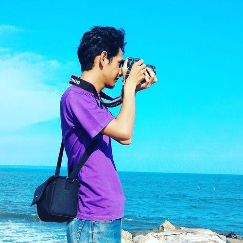 Beach Amateurphotography Taking Photos Hello World Pangandaran Beach That's Me INDONESIA Hello World Mobilephotography First Eyeem Photo Mobile Photography