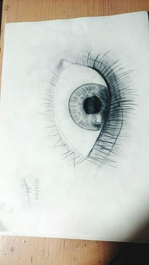 El primero de muy pocos que voy a publicar... No soy Picasso pero algo sé hacer... 😂😂 Amorphous Eye Drawing Blackandwhite EyeEm Gently COME ON  👏🎨