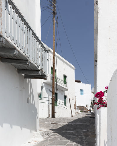 EyeEm Best Shots EyeEm Selects EyeEmNewHere Milos Island The Week on EyeEm Travel Photography Traveling Architecture Building Exterior City Clear Sky Connection Flower Greece House Milos No People Plant Residential District Sky Sunlight Travel Destinations White Color Whitewashed The Traveler - 2018 EyeEm Awards