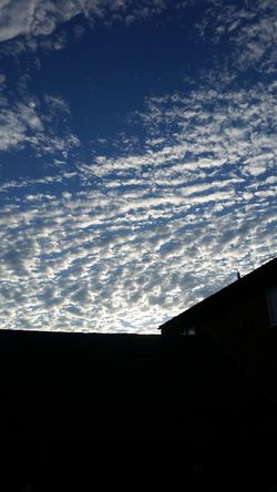 Silhouette Sky Cloud - Sky Cloud Nature Blue Scenics Beauty In Nature Cloudy Tranquility Outdoors