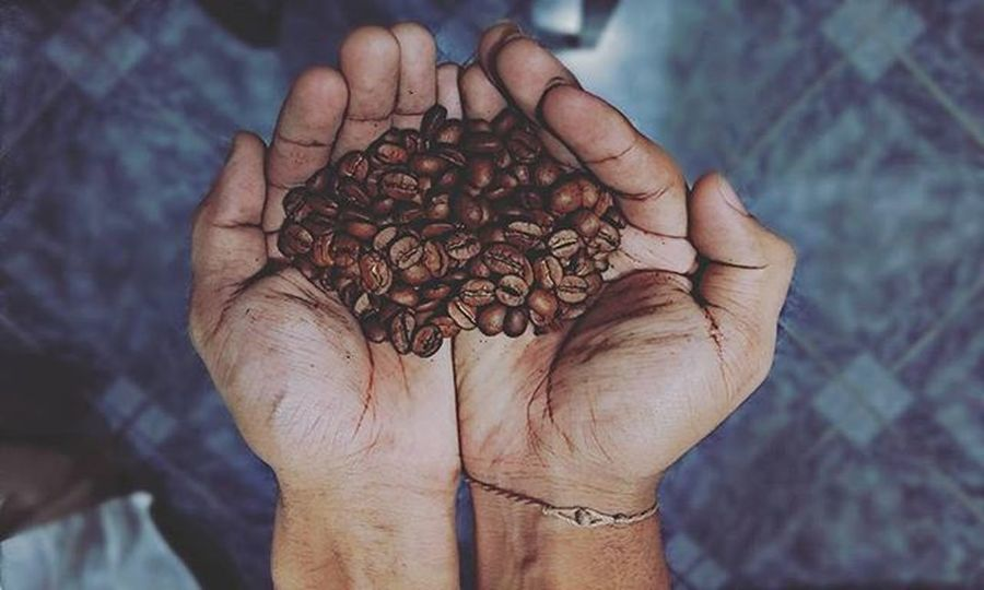 👐🌰📷 . . . . . . . . . . . . . . Cafe Coffee Art Love Instafood Latte Tasty Monday Delicious