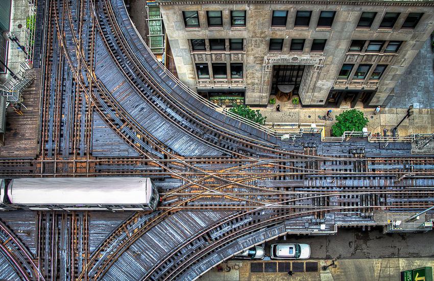 El Train CTA City Life Chicago