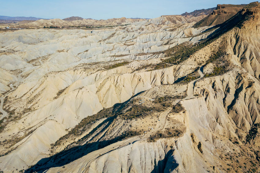 DJI X Eyeem Desert Wild West Aerial View Beauty In Nature Day Desert Landscape Landscape Mountain Mountain Range Nature No People Outdoors Physical Geography Sand Scenics Sky Tabernas Desert Western