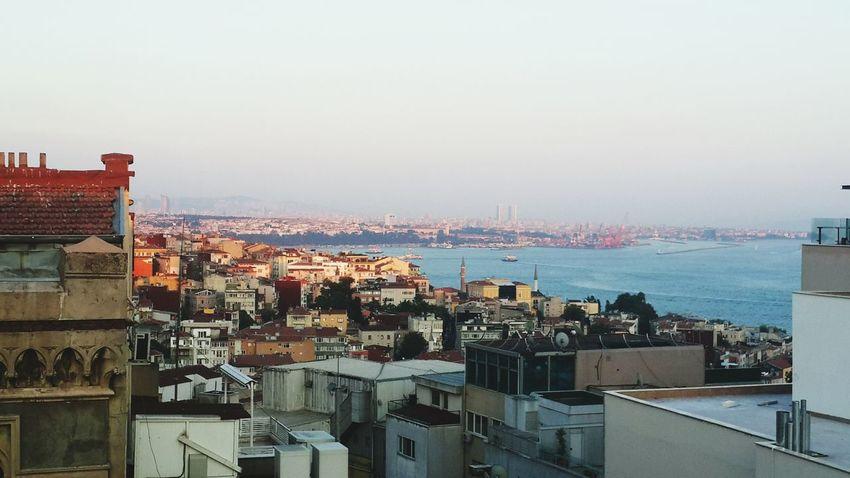 Taksim Silhouette Istanbul - Bosphorus Bosphorus Kadikoy Istanbul Turkey