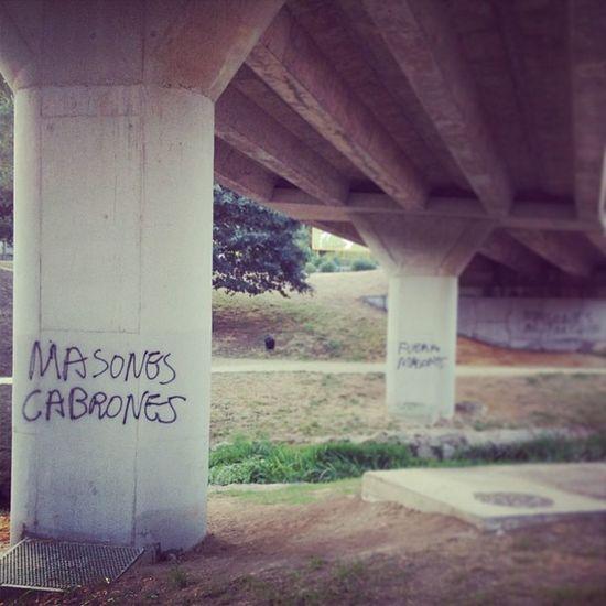 Masones cabrones Bastard Freemasons Graffiti Masones Batshitcrazy