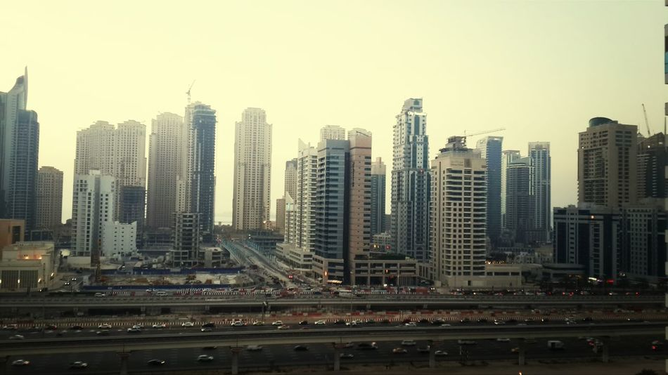 view from Armada tower JLT Dubai
