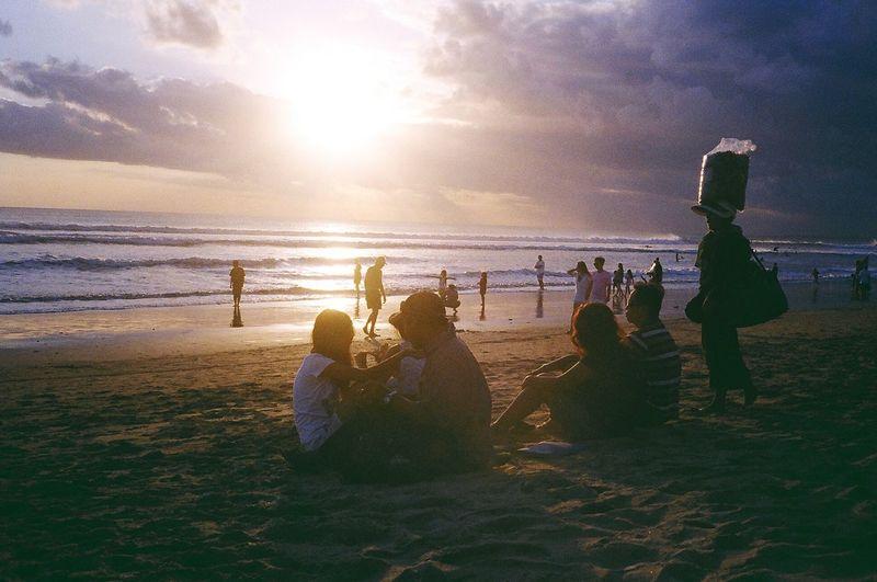 Sunset at Kuta Beach, Bali Enjoying Life Hello World Relaxing First Eyeem Photo