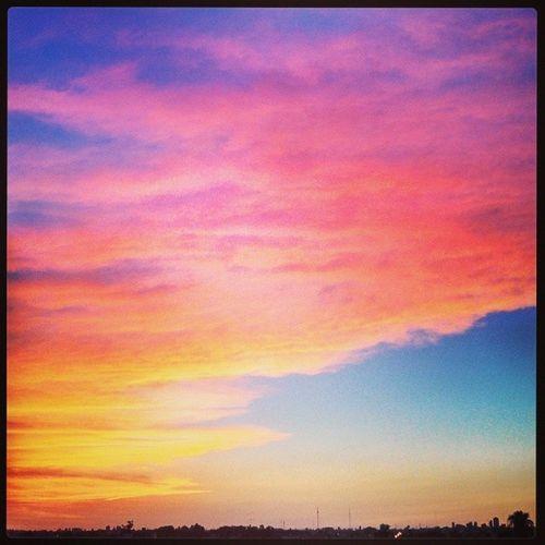 Sunrise...