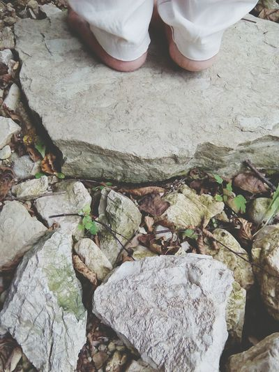 Nature lovers. Rocks Leafs 🍃 Feets Nature ❤ My Mom And I Calm Peaceful Place Nice Little Things