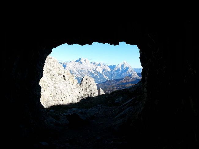 Dolomites, Italy Lagazuoi Ww1 Museum Colors Nature Mountain