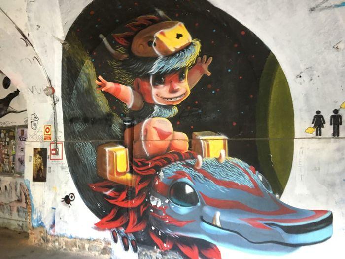 Draw Graffiti Art Graffiti Wall Grafitti Grafitti Art. Multi Colored Paint Painted Pictures