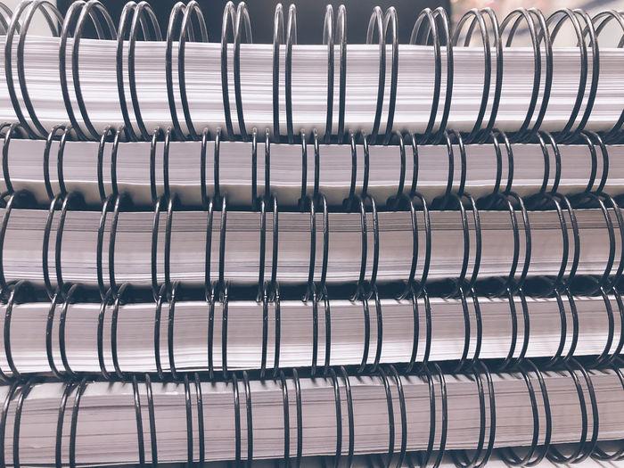 Full frame shot stack of books