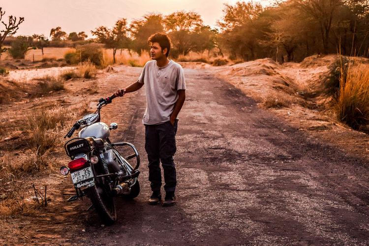Isolatedroad Haryana, India Justbeforethesunset First Eyeem Photo