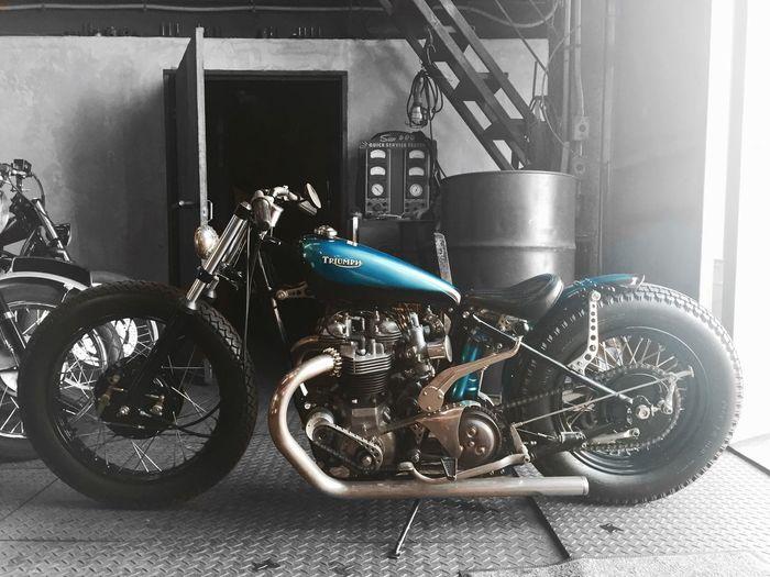 Heiwamotorcycle 平和モーターサイクル Motorcycle Triumph Bike 6t Triumph6t Custom