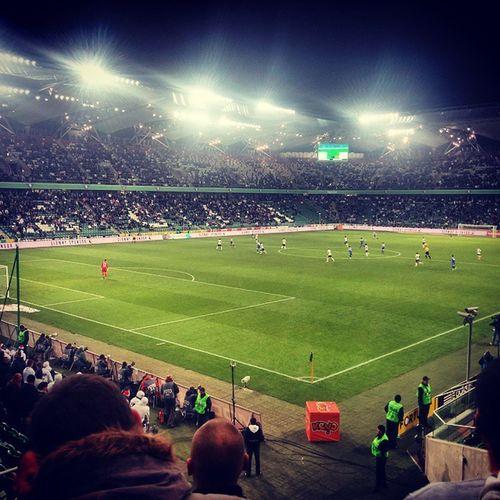 Football Warsaw Poland Legia