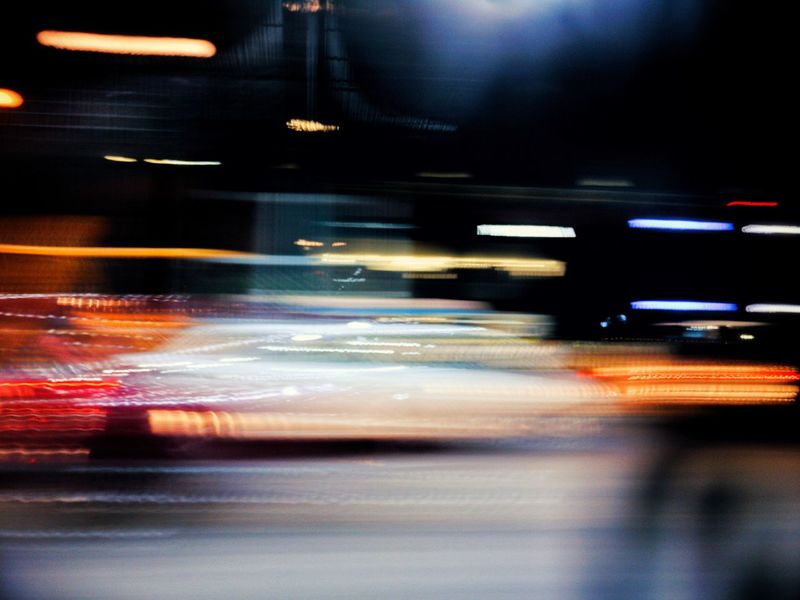 Blurred Motion Transportation Speed Motion No People Illuminated Night Citylife Citylights Oneplus3T Mobile Photography Street Photograpy Welcome To Black