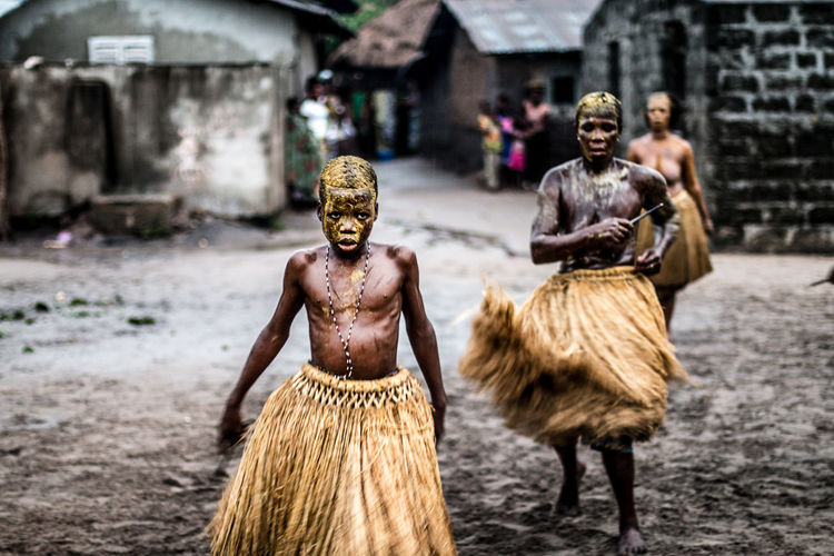 Young adept dancing to celebrate his divinity Abessan Kokou | Akodeha, Southern, Benin. Africa Boy Colors Culture Dance Documentary Portrait Religion The Photojournalist - 2017 EyeEm Awards Vaudou Voodoo First Eyeem Photo
