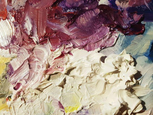 Backgrounds Art Oilpainting Oilpaint Colours Colorful Pallet палитра краски  Paint