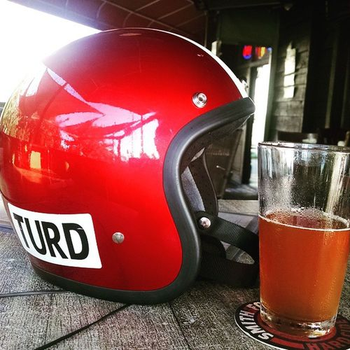 Let the weekend begin. Turd Biltwell Brewski Letsride Twowheelsmovethesoul