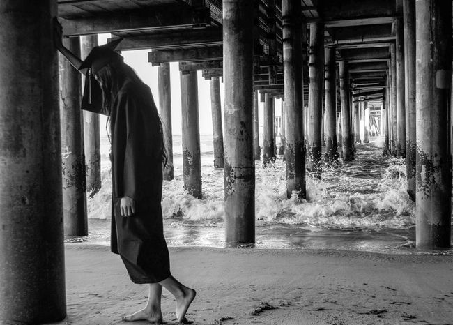 The future. Blackandwhite Santa Monica Pier AMPt_community EyeEm Best Shots Nikon Blackandwhite Photography Nikon D3100 EyeEm Best Shots - Black + White