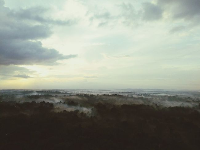 Edge Of The World morning view at Manipal