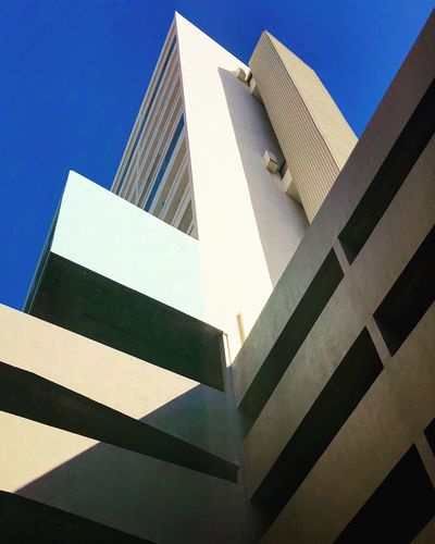 Architecture Built Structure Building Exterior Low Angle View Building No People The Architect - 2018 EyeEm Awards Day Skyscraper Clear Sky Travel Destinations Outdoors Office Building Exterior Nature Tower Modern Office City Sky Tall - High Blue