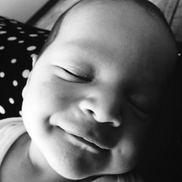 Baby Boy Human Face Babyface Blackandwhite Smile Onemonth Charisma Life He Is My World Myworld Dessert Turkish Delight Turkey Ertugrul Fatherhood Moments