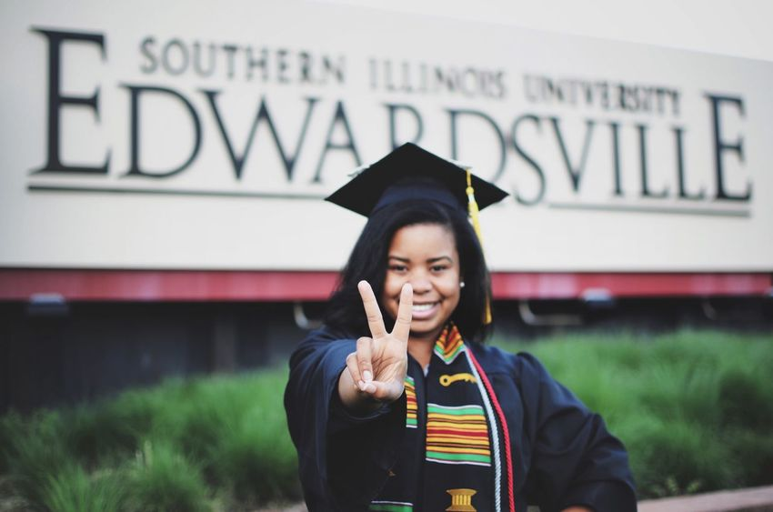 Peace out, college. Hello, adulthood. Check This Out Hello World Enjoying Life Graduation College Peace Peace Out Peace And Quiet Adulting Adult