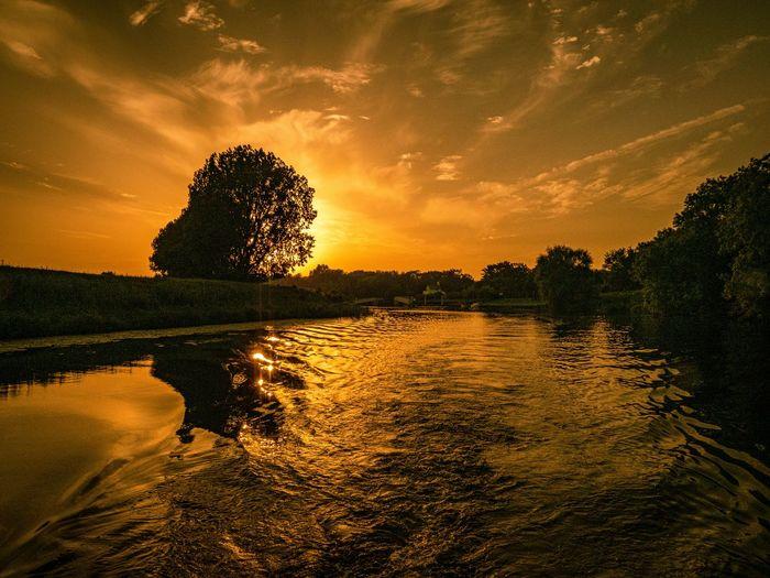 Water Sky Tree