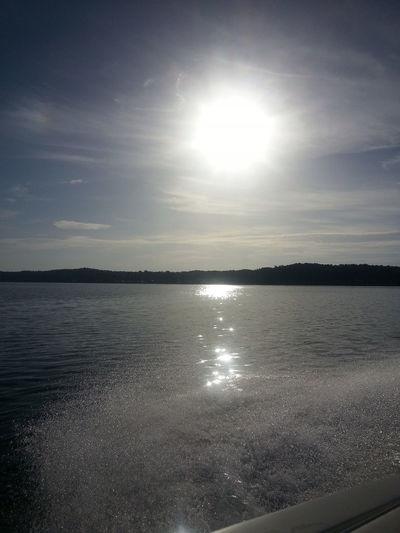 Sunrise on the lake Enjoying Life Reflection Sunrise Goingforbreakfast