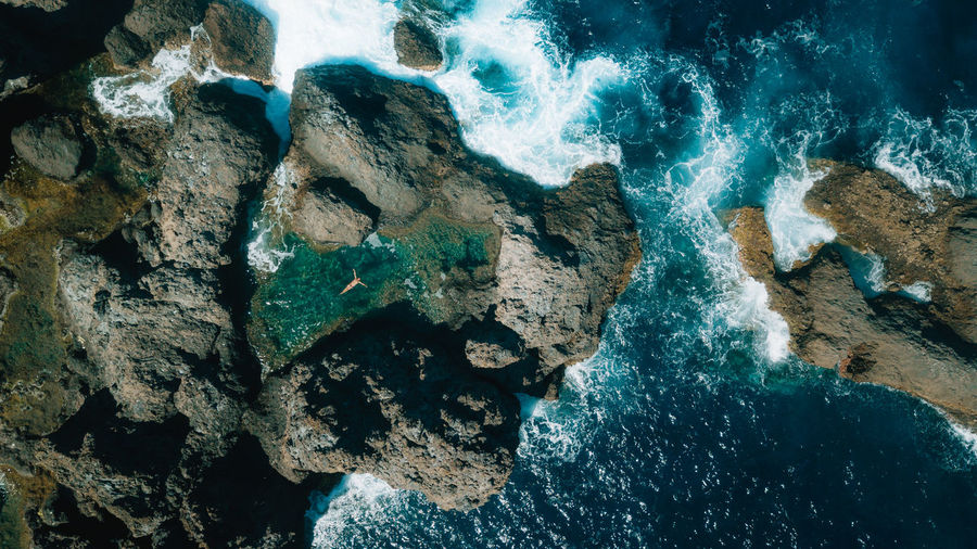 bird view Canary Islands Drone  EyeEm Best Shots EyeEm Nature Lover EyeEmNewHere Nature Beach Beauty In Nature Day Dronephotography High Angle View Mavic Pro Motion Nature Nature_collection Outdoors Rock Rock - Object Rock Formation Scenics - Nature Sea Solid Summer Tenerife Water The Traveler - 2018 EyeEm Awards