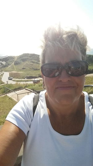 Summerfeeling Windy Day North Shore Beauty In Nature Casual Clothing Clear Sky Close-up Day Front View Landscape Leisure Activity Lifestyles Looking At Camera Me At Helgoland Nature One Person Outdoors Portrait Real People Selfie ✌ Sky Sunglasses Vacations Live For The Story The Photojournalist - 2017 EyeEm Awards The Portraitist - 2017 EyeEm Awards