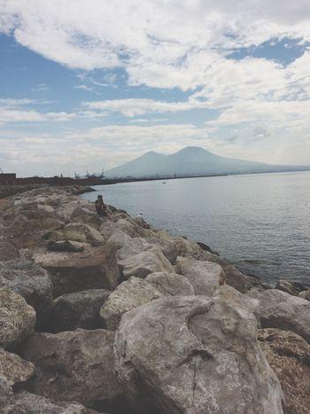 Napoli Italy Vesuvio