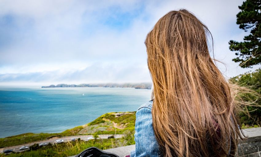 San Francisco Pacific Ocean Beach Beauty In Nature Day Horizon Over Water Sky Nature Water Sea Woman Who Inspire You