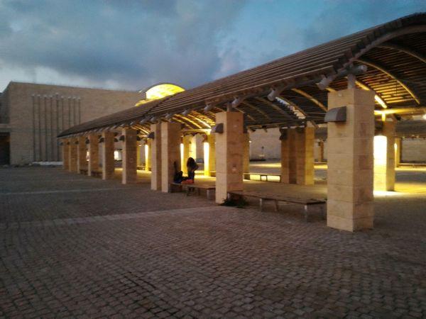 Modiin, Israel Mall at Night Azrael