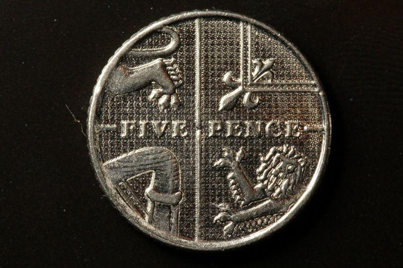 5p Five Pence