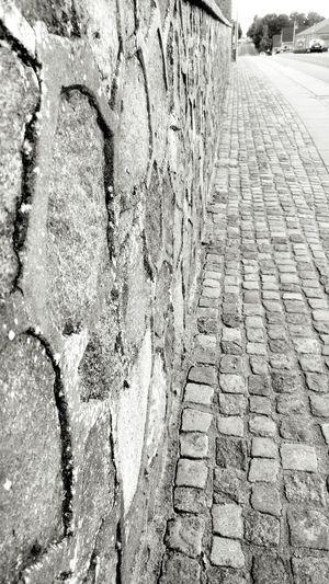 Sidewalk Footpath Paving Stone Outdoors Concrete The Way Forward Stone Material Pedestrian Walkway