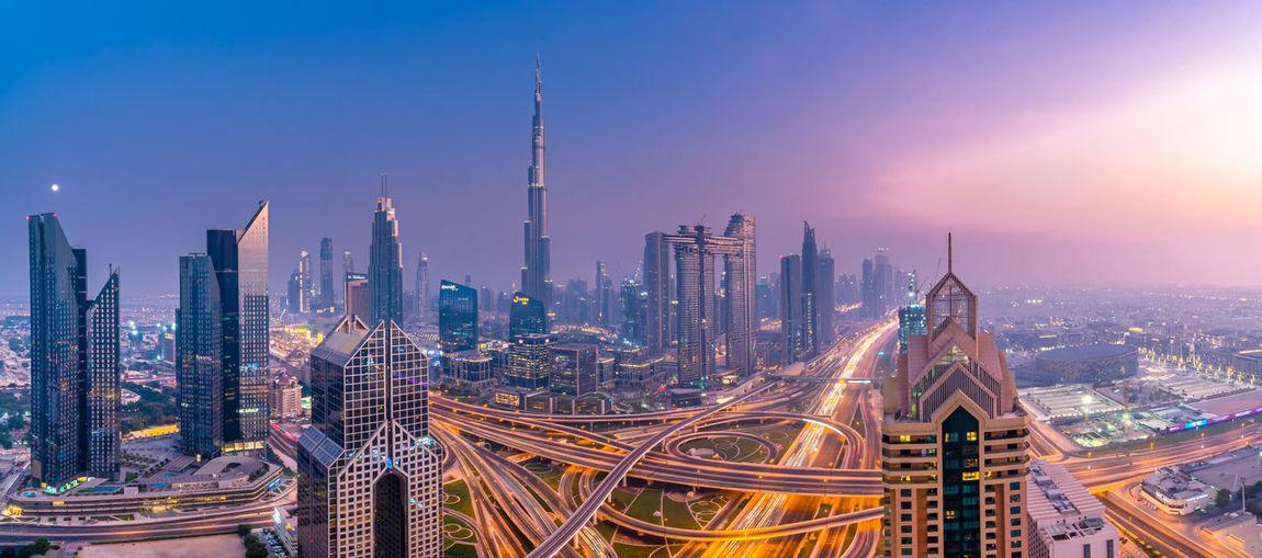 Dubai during