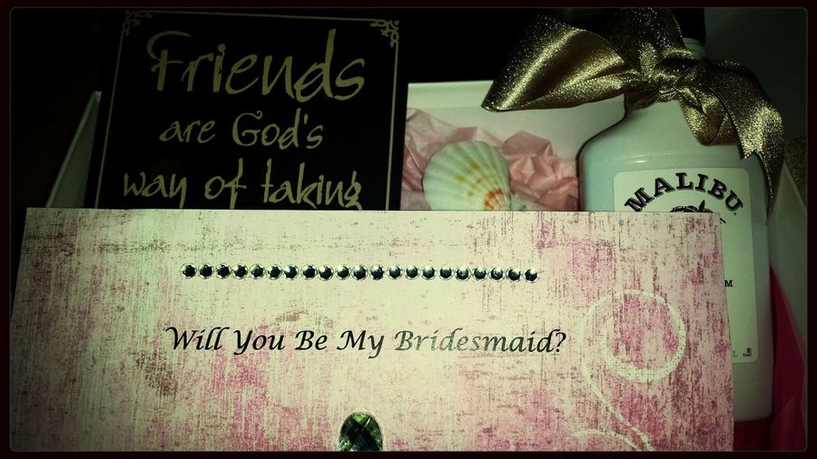 My 2 best friends are marrying each other and they've asked me to be a bridesmaid! Love you, Kristen and Jordan! Bff Bridesmaids