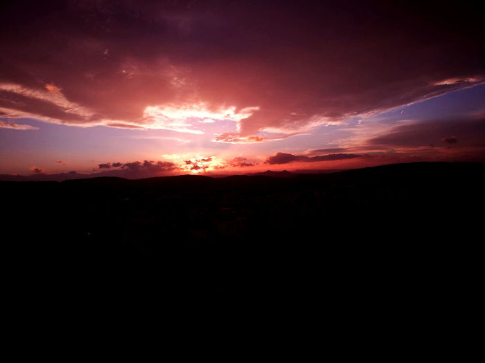 Basilicata Beauty In Nature Calitri Nature No People Outdoors Scenics Silhouette Sky Sunset