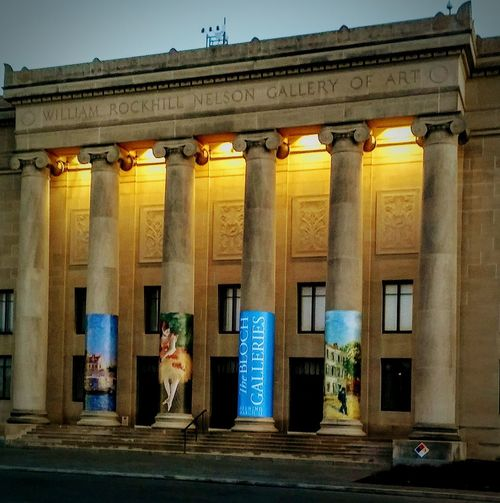 Nelson Gallery Of Art Building Exterior Architecture Architectural Column Full Length Façade Outdoors Sunset Duskview EyeEm Gallery Museum Of Art Illuminated Outside Photography Architecture Enjoying Life ♥ BYOPaper!