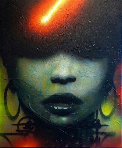 Canvas Streetart Marko93 Graffiti Toilet Art Spray Painting